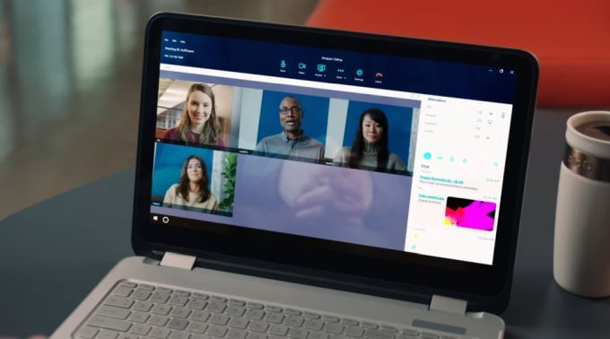 Amazon Chime web conferencing takes aim at WebEx, Skype