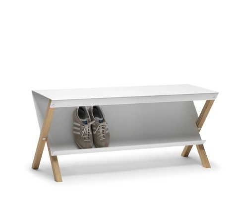 PAUSE Bench. Designed by Outofstock for Danish brand Bolia - Wish to have a house that can use this.