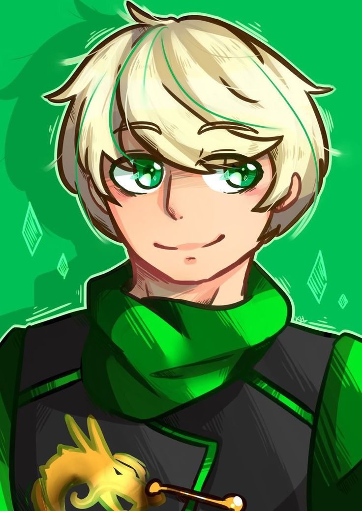 ::Lloyd:: headshot by Khwan123-and-ninjago on DeviantArt