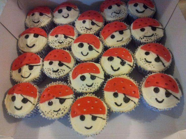 Pirate cupcakes!