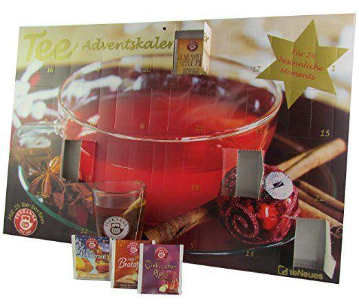 Tee - Adventskalender 2017 - Teekanne, 25 Teekompositionen für eine genussvolle Adventszeit - 56 x 38 cm: teNeues Calendars & Stationery: Amazon.de: Lebensmittel & Getränke