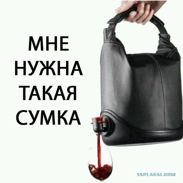 женская сумка картинка прикол обычно ношу