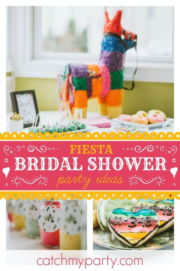 Fiesta Mexican Bridal Wedding Shower Taco Bout Love Bridal