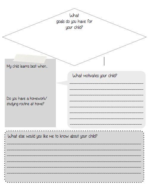 Free   Parent Survey Best 25+ Parent Questionnaire Ideas On Pinterest Survey    Parent Survey Template ...