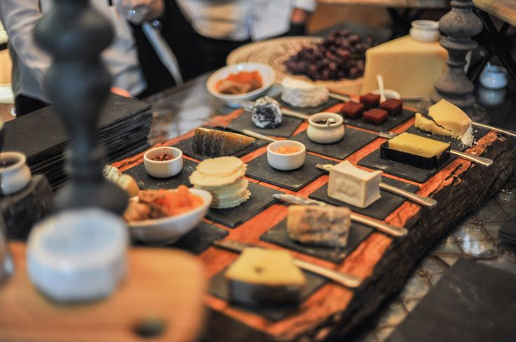 Cheese, cheese, cheese! In the Wolgan walk-in wine cellar & cheese room.