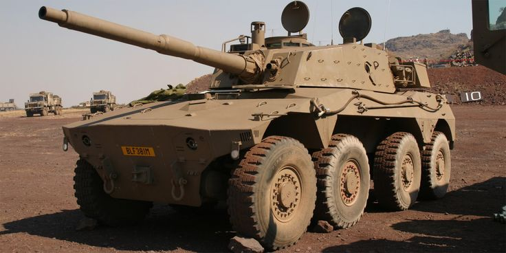 Rooikat 105 Armored Fighting Vehicle (South Africa)