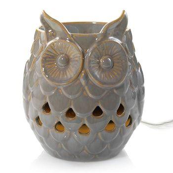 Yankee Candle Scenterpiece Gray Owl Wax Melt Warmer