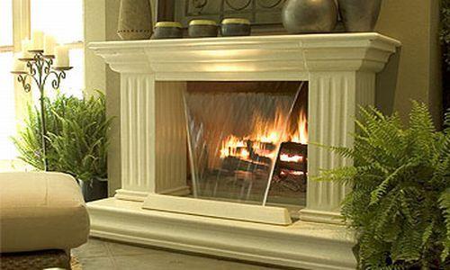 combines 2 relaxing qualities, waterfalls & fire