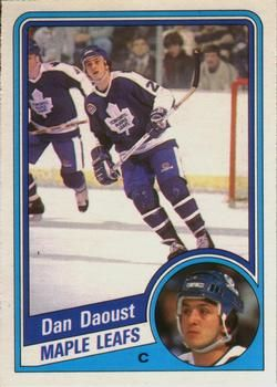 1984-85 O-Pee-Chee #299 Dan Daoust Front