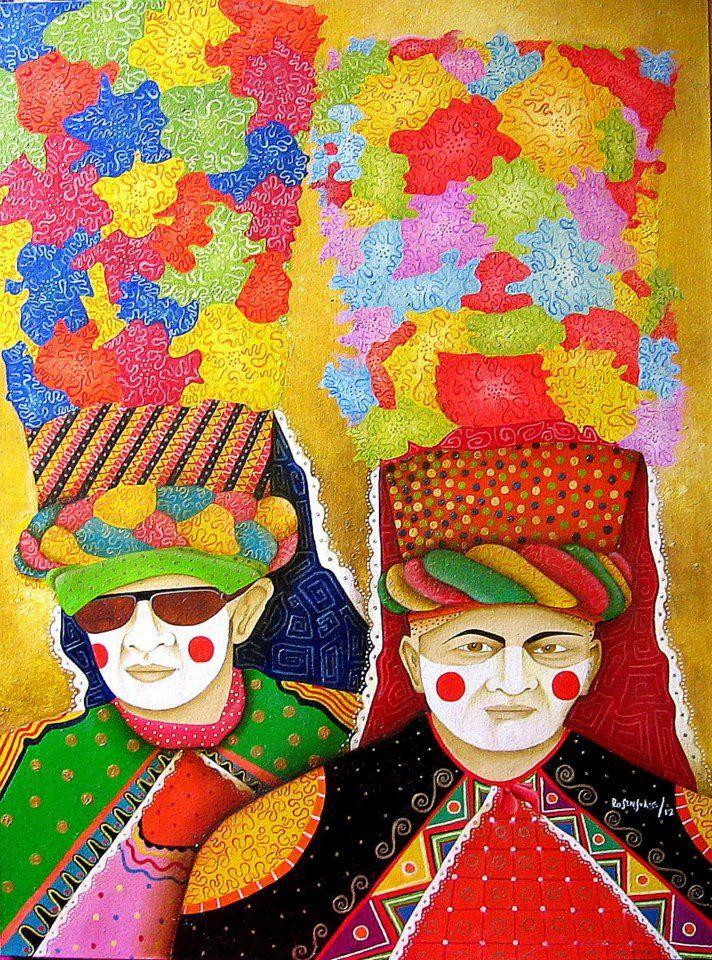CONGOS(Personajes del Carnaval de Barranquilla) Jorge Rosensvaig