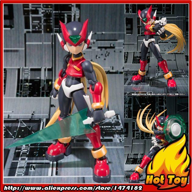 "Original BANDAI Tamashii Nations S.H.Figuarts (SHF) Exclusive Action Figure - Zero GBA from ""Megaman"""