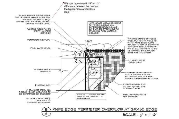 swimming pool construction details dwg pdf