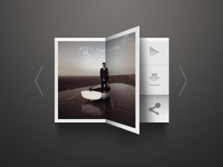 20 Gorgeous Music Players from Dribbble - UltraLinx