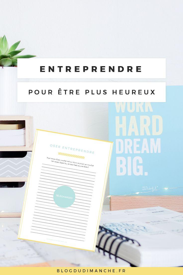 Vous rêvez de vos projets, vous aimeriez vous lancer mais vous n'osez pas, ouvrir une boutique, vendre des produits, créer .. Et si on osait entreprendre ?