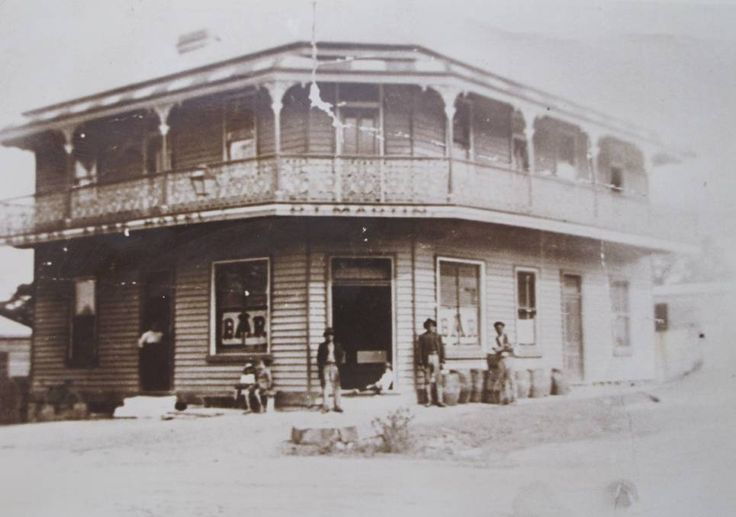 Miners Arms Hotel in Wallsend,New South Wales (year unknown).