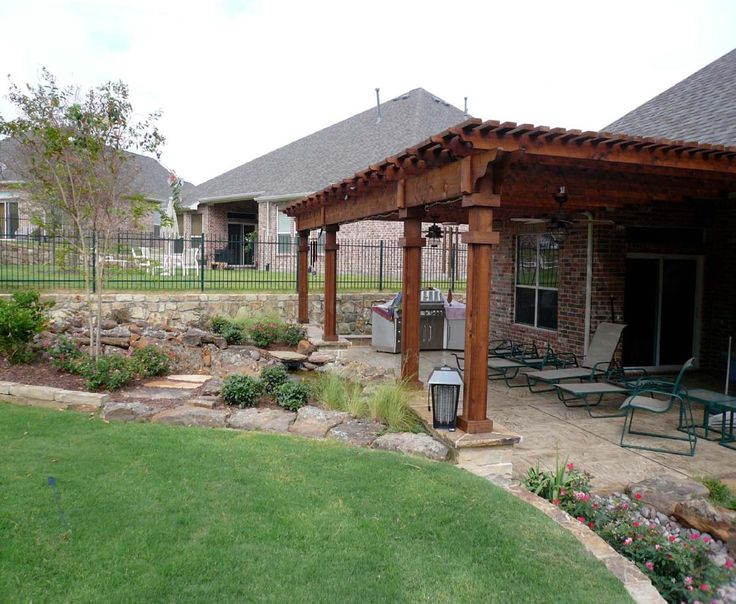 Creative Backyards Of West Texas In Lubbock Tx For The