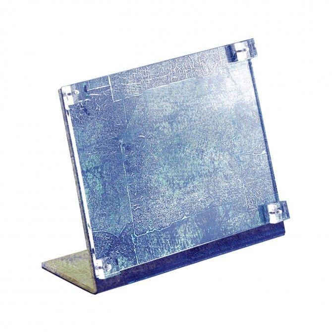 Picture frame squared cracquelure