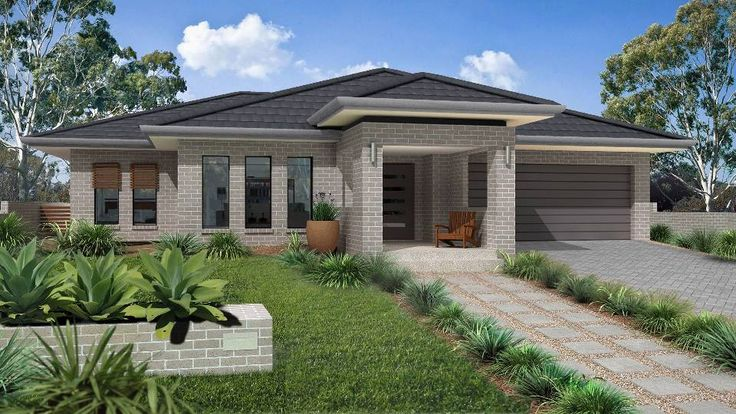 This is it!  Monier PGH ColourTouch House: MONIER ROOF TILES: Nullarbor - Granite, BRICK: Cement, GUTTER: Basalt, FASCIA: Monument, WINDOW FRAMES: Night Sky, DOOR: Monument, GARAGE DOOR: Monument, GLASS: SP30 Neutral – Panoramic