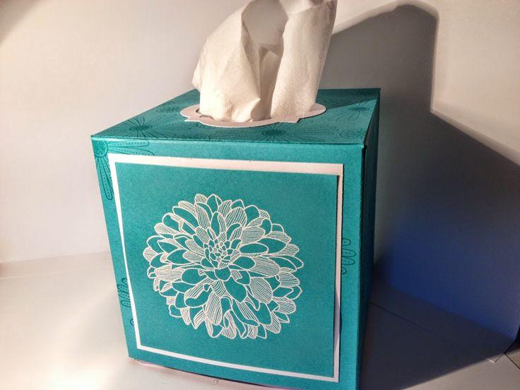 Elizabeth 39 s craft room video tissue box cover i will for Tissue box cover craft