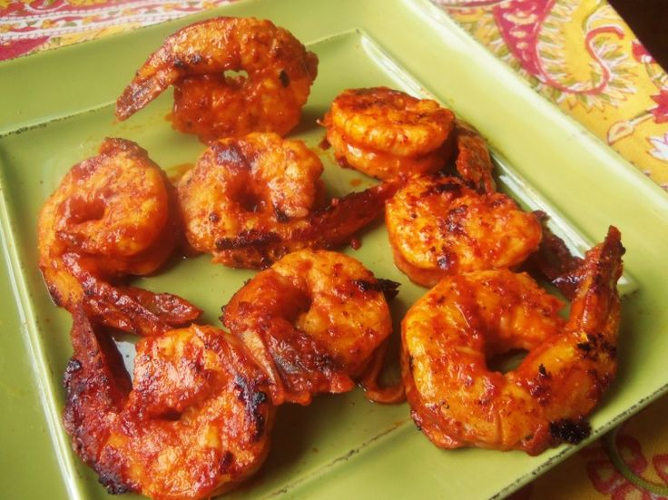 Camarones al Pastor (Achiote-Pineapple and Chipotle Marinated Shrimp) - Hispanic Kitchen