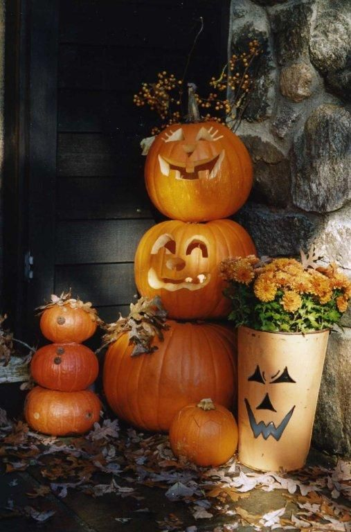 Glorious Treats » Warm and Welcoming Fall Displays