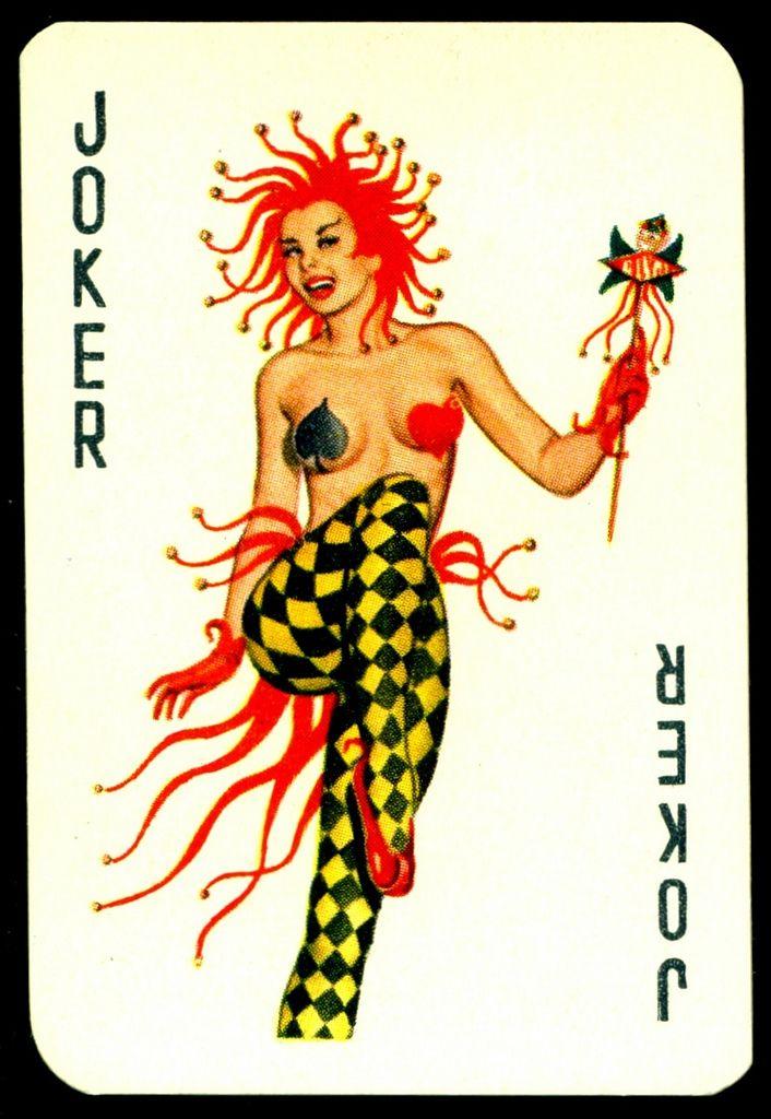 Dandy Pin Ups Joker | Dandy Gum (Netherlands) Pin-Ups, 1956