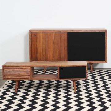 Mullan TV Cabinet Black #productdesign #furnituredesign