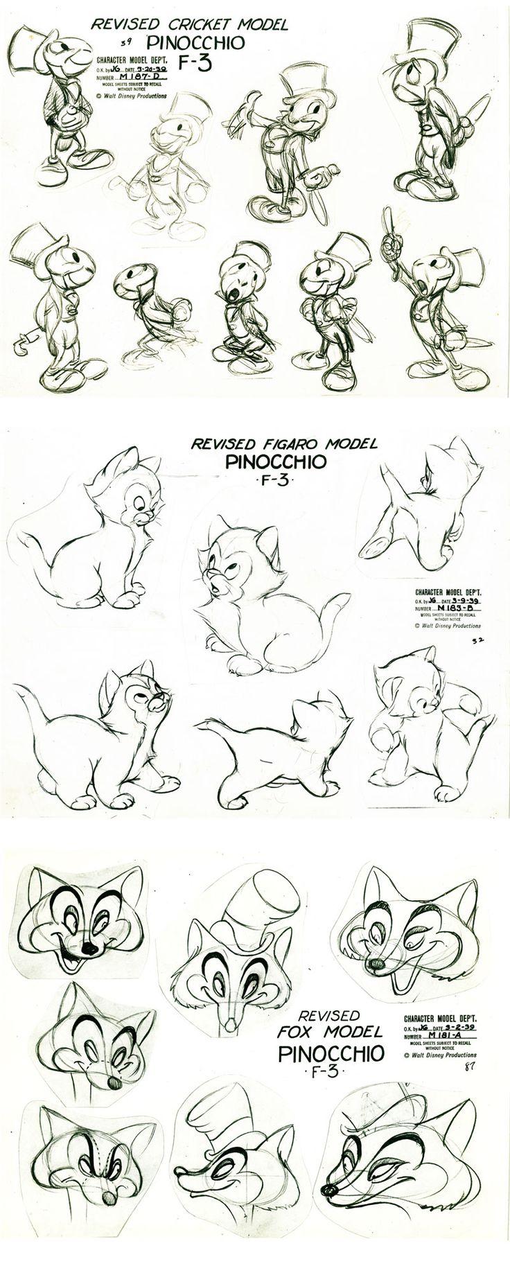 http://theconceptartblog.com/2013/01/20/model-sheets-de-filmes-e-desenhos-classicos/