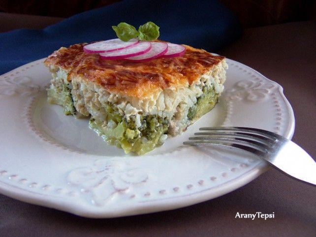 Húsos rakott brokkoli Recept képpel - Mindmegette.hu - Receptek
