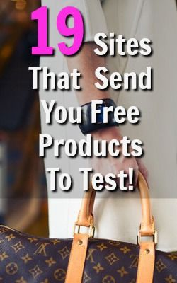 Who Doesn't Like Free Stuff? Here's 19 Sites That Will Send You Free Products To…