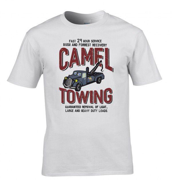 Camel towing printed T-shirt £11.99
