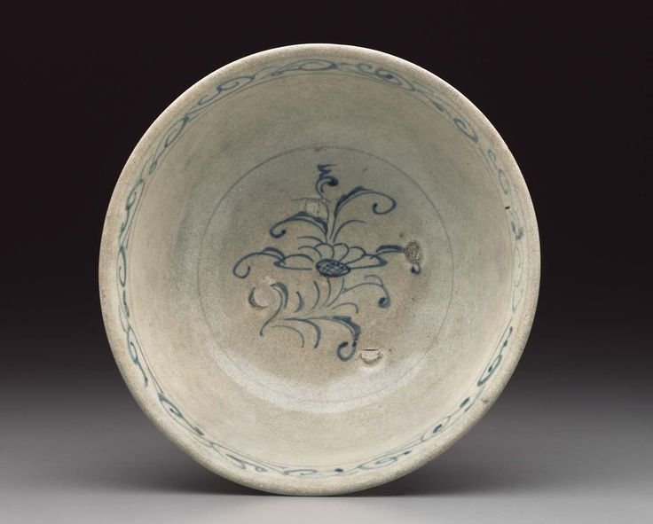 Bowl  Vietnamese Tran dynasty 14th century  Object Place, Vietnam Catalogue Raisonné  Truong, Philippe, The Elephant and the Lotus: Vietnamese Ceramics in the Museum of Fine Arts, Boston, 2007 Museum of Fine Arts, Boston, Cat. 135 Dimensions  7.8 x 17 cm (3 1/16 x 6 11/16 in.) Accession Number  1989.798