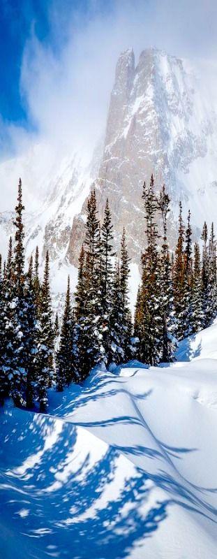 Notchtop Mountain, Rocky Mountain National Park, Colorado