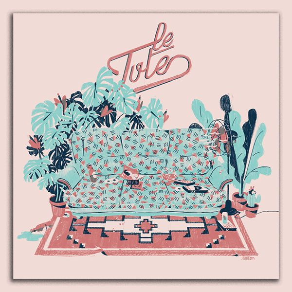 Le Tute Ep cover on Behance