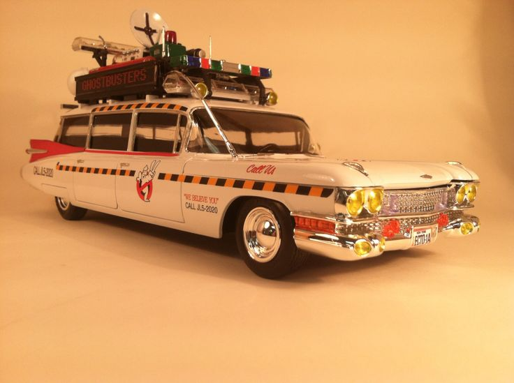 ghostbusters ecto 1 sully4252 in my nerdy office. Black Bedroom Furniture Sets. Home Design Ideas