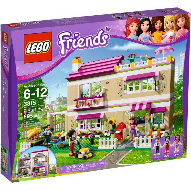 Đồ chơi LEGO 3315 Olivia's House – Ngôi nhà của Olivia
