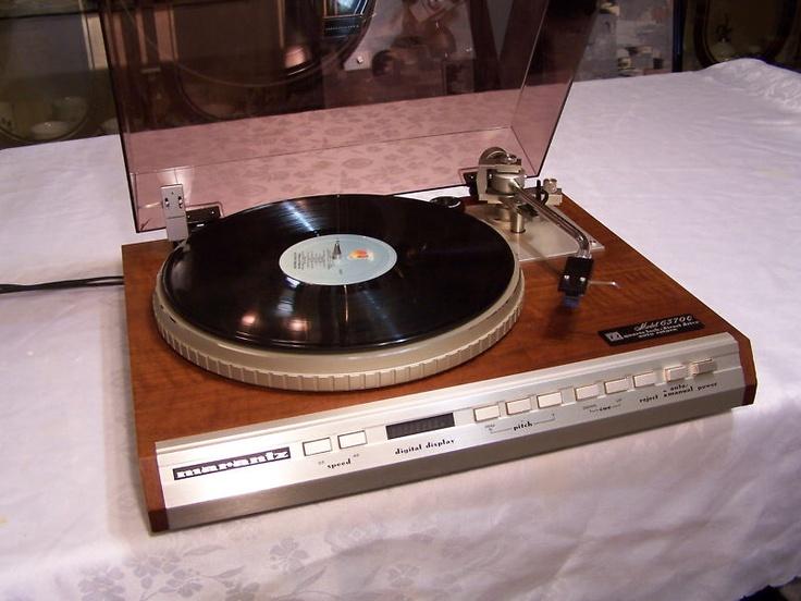 Marantz 6370q Stereo Turntable Hi End X Rare Restored