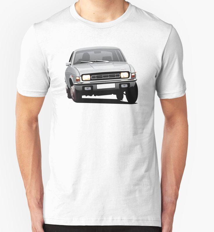Austin Allegro illustration silver by knappidesign  #austinallegro #austin #leyland #british #uk #automobile #car #tshirt #print #illtustration #redbubble #70s #classic #silver