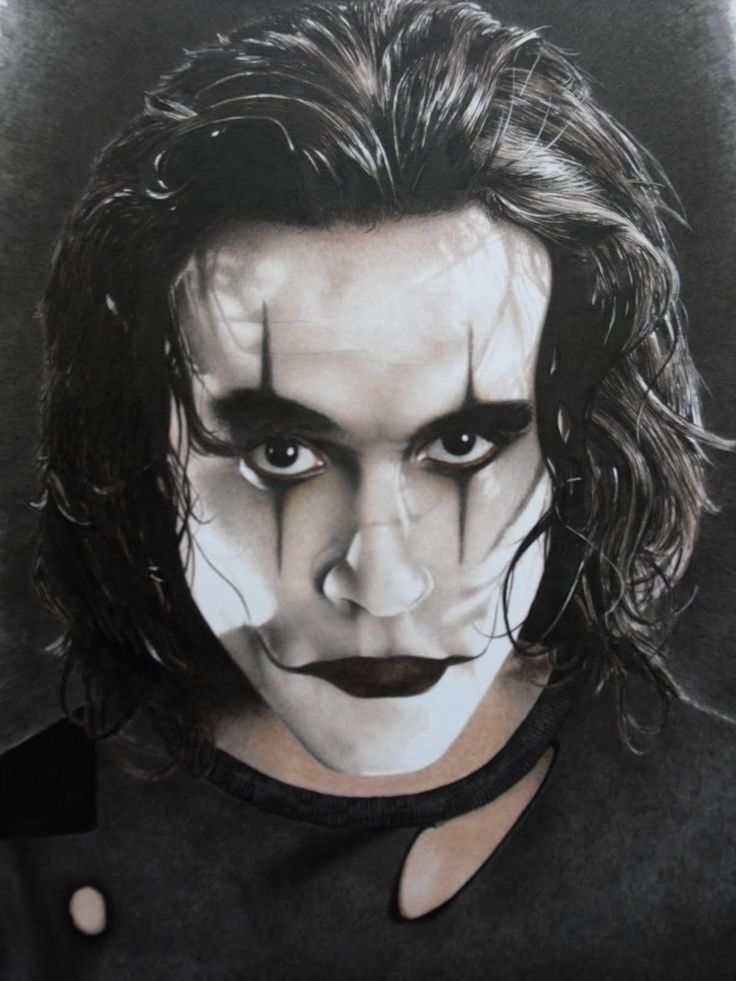 Image result for brandon lee in the crow