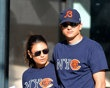 Mila Kunis, Ashton Kutcher : Da Bears, what the NYC has to do with the Chi Bears, no idea.  :))