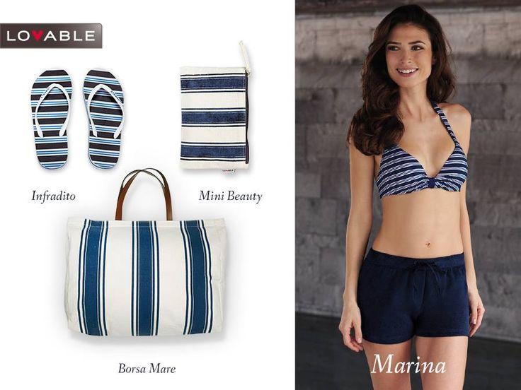 Summer bag and pochette wet bikini designed for Lovable by Imei Beauty