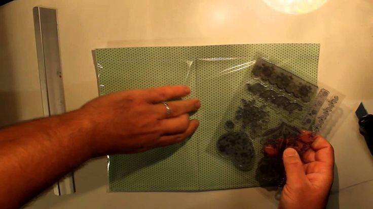 DIY : Pochettes rangement tampons