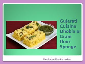 Gujarati cuisine dhokla or gramflour sponge - Gujarati recipes or foods. popular, tasty, delicious, healthy, steamed food, instant Indian cooking recipe.