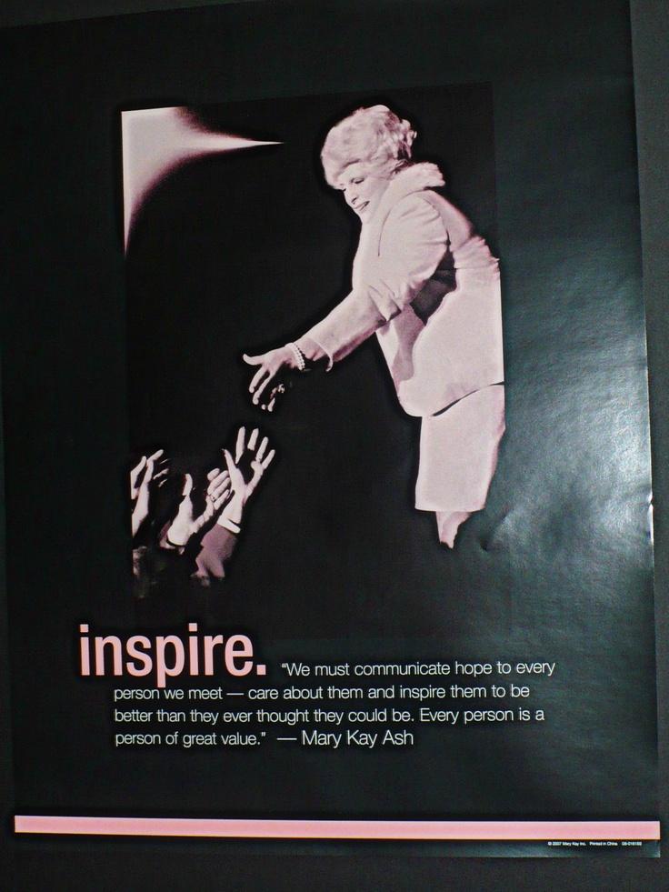Mary Kay Poster: Inspire!