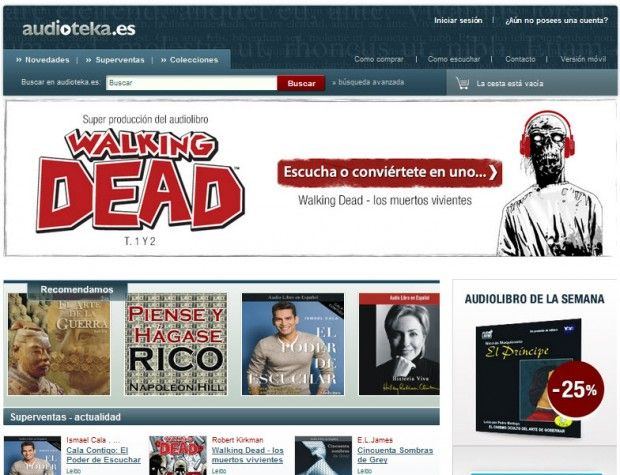SEO Audiolibros | Proyecto Inbound marketing Audioteka