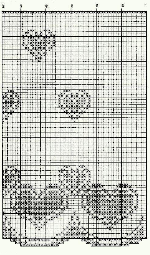 Cortina de crochê com motivos de coração uma ótima ideia para deixar o ambiente mais decorado