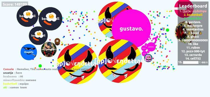 149199 agario score screenshot [ĝρ]☯√εŋđεŧŧą☯ nickname - Player: [ĝρ]☯√εŋđεŧŧą☯ / Score: 149199