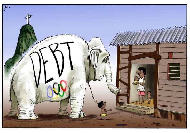 Dom Nelson  (2016-08-27) JO 2016: Olympic debt The white elephant of Olympic debt on Brazil's doorstep