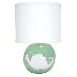Alex Marshall Studios' children's table lamp - green dinosaur