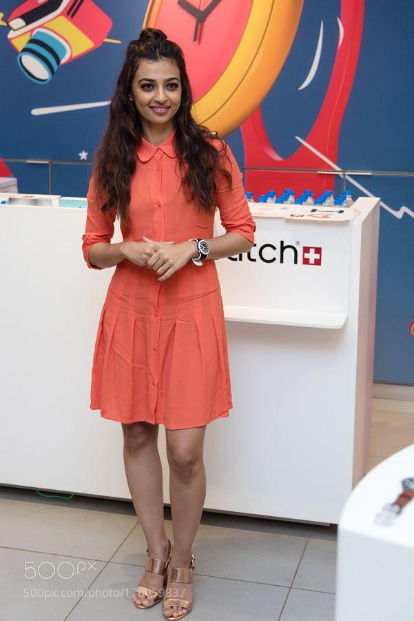 Radhika Apte in Orange by salmandarkangel